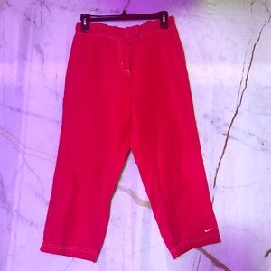 NEW! Nike bright orange women's Capri, size M 8-10